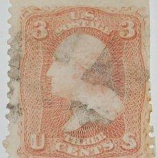 Sellos: SELLO GEORGE WASHINGTON 1861 -S14. Lote 215104195