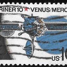 Selos: ESTADOS UNIDOS 1975. MISIÓN ESPACIAL MARINER 10. YVERT 1050. Lote 220683060