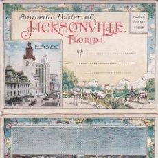 Sellos: JACKSONVILLE (FLORIDA) - ESTADOS UNIDOS - TACO DE 20 POSTALES EN ANVERSO Y REVERSO. Lote 222092203