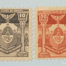 Sellos: SELLO DE FILIPINAS - ESTADOS UNIDOS 1937 ESCUDO DE ARMAS. Lote 223409377