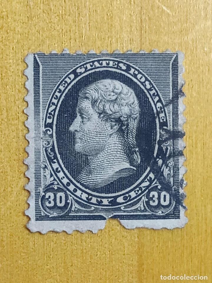 UNITED STATES 30 CENTS THOMAS JEFFERSON 1890. (Sellos - Extranjero - América - Estados Unidos)