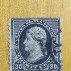 Sellos: UNITED STATES 30 CENTS THOMAS JEFFERSON 1890.. Lote 226664905