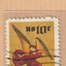 Sellos: US 10 C CHRISTMAS MOTIVO ALTAR PIECE OF METROPOLITAN MUSEUM. Lote 227896340