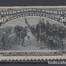 Sellos: ESTADOS UNIDOS, 1893. YVERT Nº 91. Lote 229906215