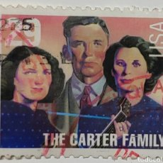 Francobolli: SELLO USA, COUNTRY SINGERS, THE CARTER FAMILY, 29C. Lote 230730540