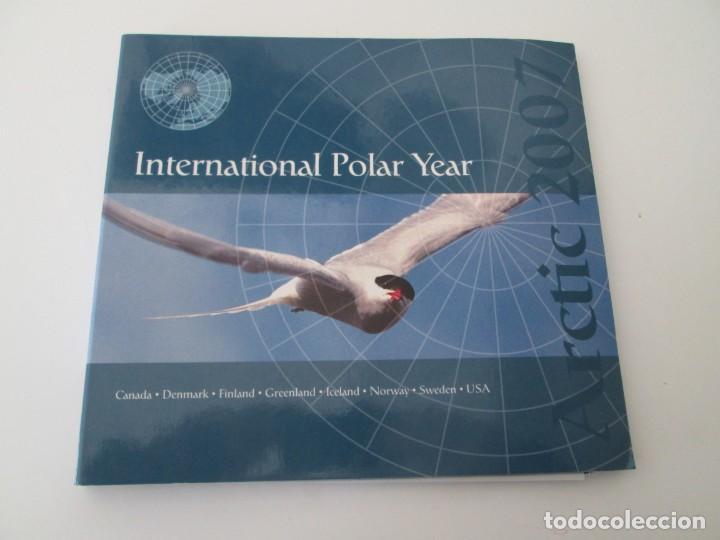 ER * CARPETA ARTIC 2007 - INTERNATIONAL POLAR YEAR (Sellos - Extranjero - América - Estados Unidos)