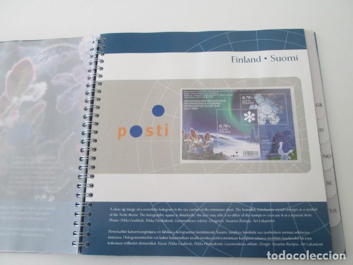 Sellos: ER * CARPETA ARTIC 2007 - INTERNATIONAL POLAR YEAR - Foto 6 - 233440480