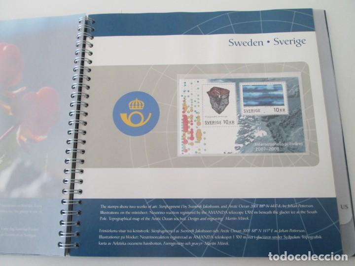 Sellos: ER * CARPETA ARTIC 2007 - INTERNATIONAL POLAR YEAR - Foto 9 - 233440480