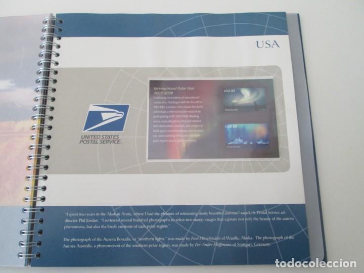 Sellos: ER * CARPETA ARTIC 2007 - INTERNATIONAL POLAR YEAR - Foto 10 - 233440480