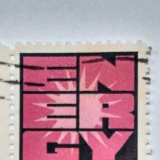 Sellos: SELLO ESTADOS UNIDOS YT Nº 1036. CONSERVACIÓN ENERGÍA. 1974. USADO.. Lote 235452910