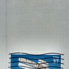 Sellos: SELLO ESTADOS UNIDOS YT Nº 3477. PRIMER VUELO HERMANOS WRIGHT. 2003.. Lote 235457375