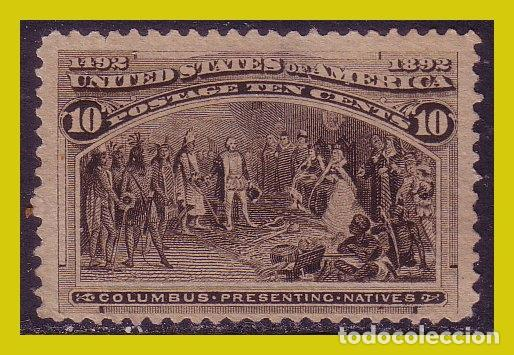 ESTADOS UNIDOS, 1893 COLÓN, IVERT Nº 88 (*) (Sellos - Extranjero - América - Estados Unidos)