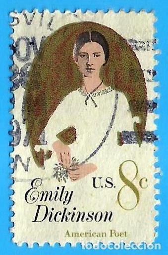 ESTADOS UNIDOS. 1971. EMILY DICKINSON (Sellos - Extranjero - América - Estados Unidos)