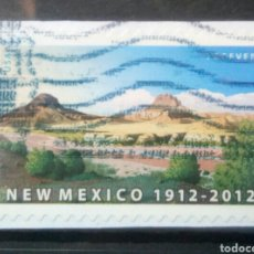 Francobolli: USA 2012 ANIVERSARIO DE NUEVO MEXICO SELLO USADO NO LAVABLE. Lote 244958545