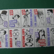 Sellos: +ESTADOS UNIDOS, 1994, CARICATURAS, MICHEL 2440/49. Lote 245298245