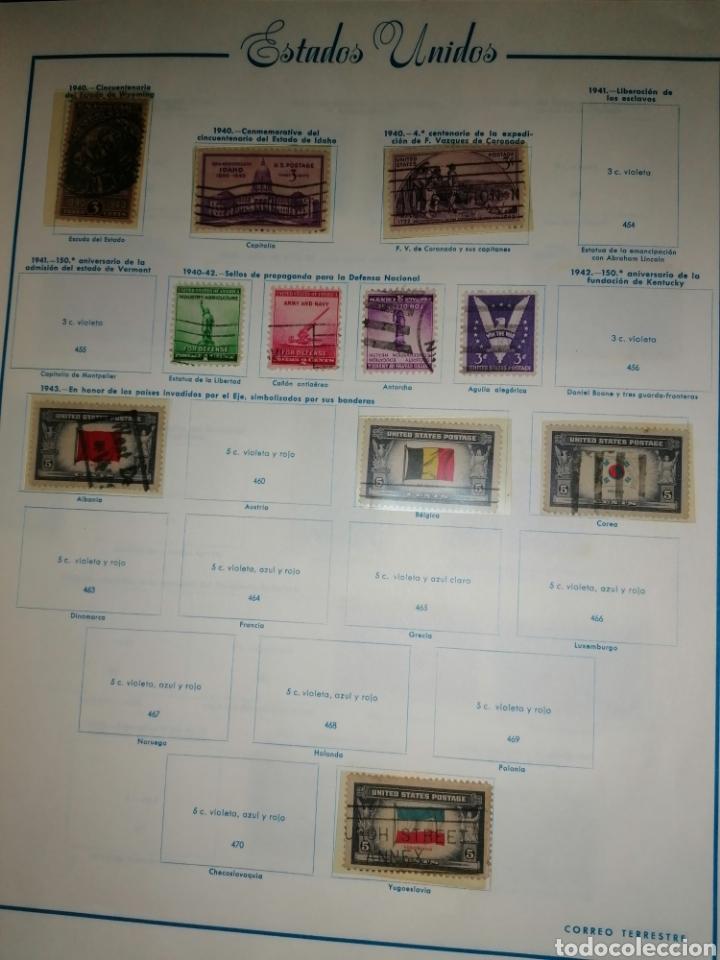 Sellos: Colección de sellos de Estados Unidos - Foto 17 - 245890305