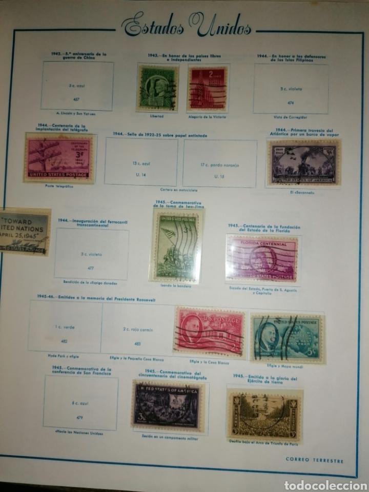 Sellos: Colección de sellos de Estados Unidos - Foto 18 - 245890305