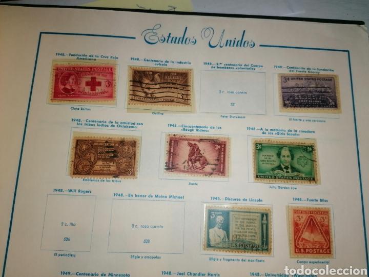 Sellos: Colección de sellos de Estados Unidos - Foto 21 - 245890305