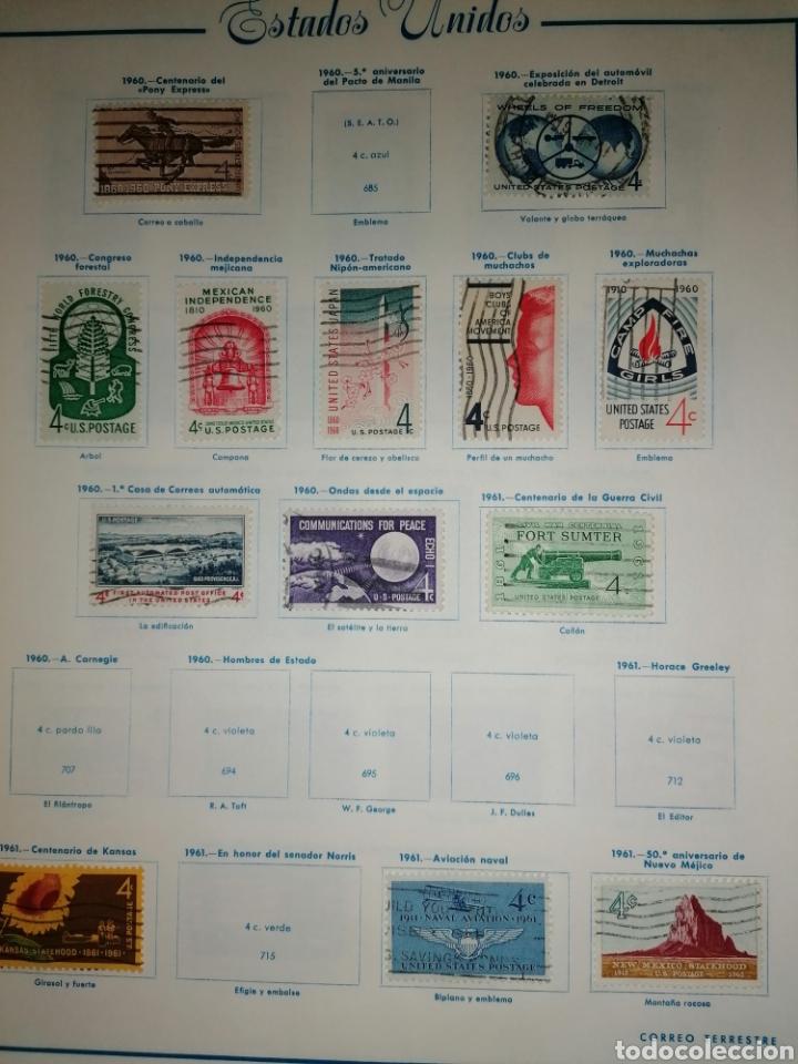 Sellos: Colección de sellos de Estados Unidos - Foto 31 - 245890305