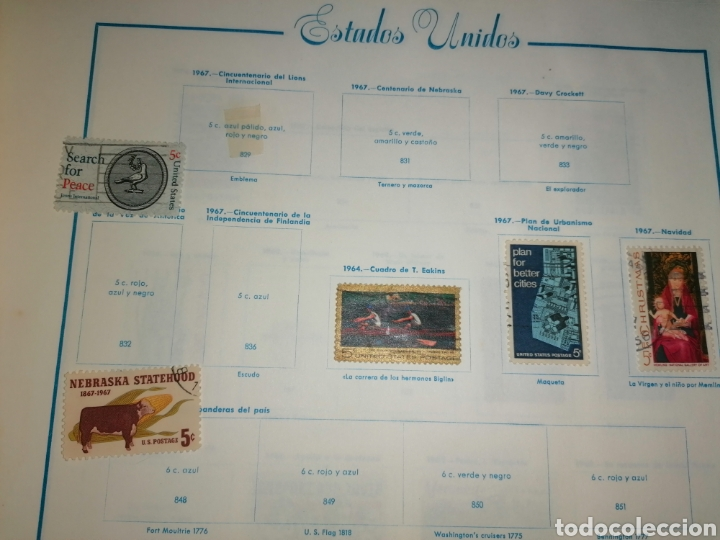 Sellos: Colección de sellos de Estados Unidos - Foto 38 - 245890305