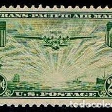 Sellos: USA 1937 CORREO AEREO CHINA CLIPPER. Lote 246488855
