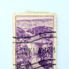 Sellos: SELLO ESTADOS UNIDOS 1935, 3 C, PRESA DE BOULDER (PRESA HOOVER), DIQUES Y REPRESAS, USADO. Lote 251845695