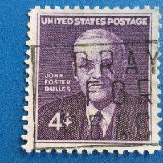 Sellos: ESTADOS UNIDOS. USA. AÑO 1960. JOHN FOSTER DULLES. YVERT 696. Lote 253766650