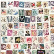 Sellos: 4980A -100 SELLOS DIFERENTES PEQUEÑO FORMATO DE EE.UU.. Lote 256021655