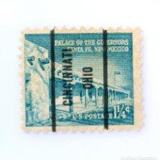 Sellos: SELLO POSTAL ESTADOS UNIDOS 1960, 5 C,PALACIO DE LOS GOBERNADORES, SANTA FE, CALIFORNIA,PRECANCELADO. Lote 258167735