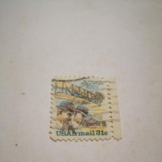 Sellos: SELLO USA AIRMAIL 31C ORVILLE AND WILBUR WRIGHT AVIATION PIONEERS. Lote 260770375