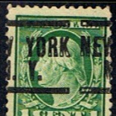 Francobolli: ESTADOS UNIDOS // YVERT 199 // 1916-19 ... USADO. Lote 260969465