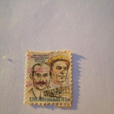 Sellos: USA SELLO AIRMAIL 31C ORVILLE AND WILBUR WRIGHT AVIATION PIONEERS. Lote 261864925