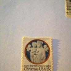 Sellos: SELLO USA 15C CHRISTMAS ANDRE DELLA ROBBIA. Lote 261869045