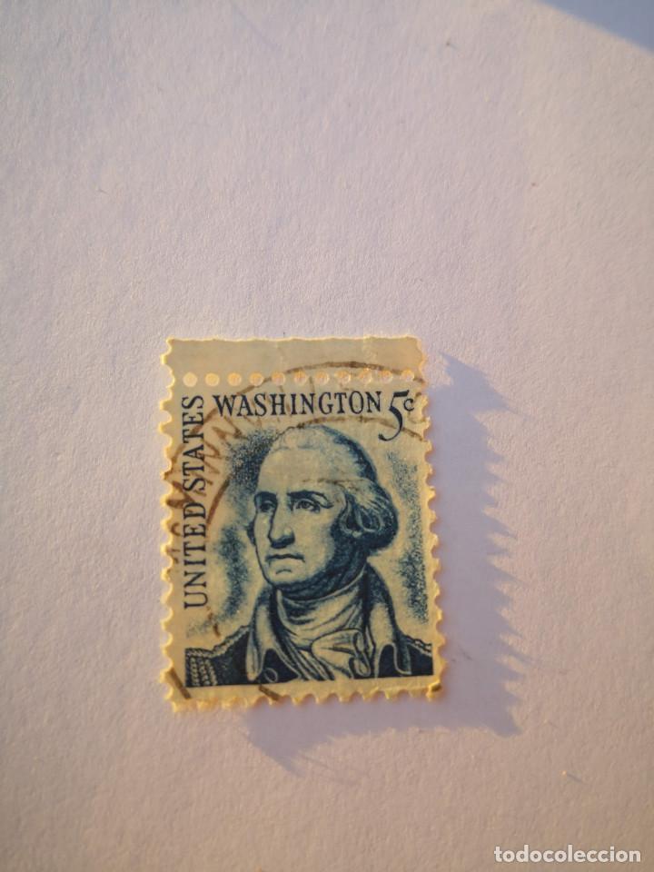 SELLO USA EE.UU. 1965 - WASHINGTON 5C (Sellos - Extranjero - América - Estados Unidos)
