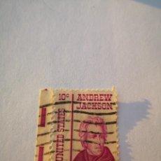 Sellos: SELLO ESTADOS UNIDOS EEUU ANDREW JACKSON 10 CENTAVOS. Lote 261869735