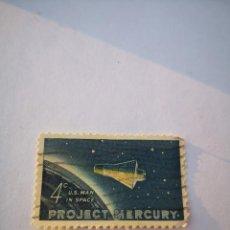 Sellos: SELLO USA 4C PROJECT MERCURY 1962. Lote 261871070
