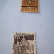 Sellos: SELLO PAVILION, EL PALACIO ZWINGER, DRESDE, SELLO, ALEMANIA, 1966 DEUTSCHE BUNDESPOST. Lote 261872045
