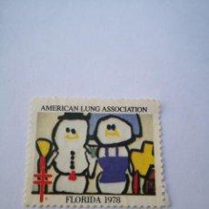 Sellos: SELLO AMERICAN LUNG ASSOCIATION FLORIDA 1978. Lote 261872225