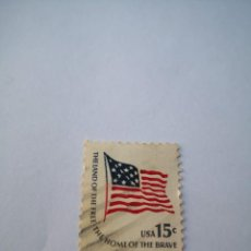 Sellos: SELLO USA 15C THE LAND OF THE HOME THE BRAVE.. Lote 261874010
