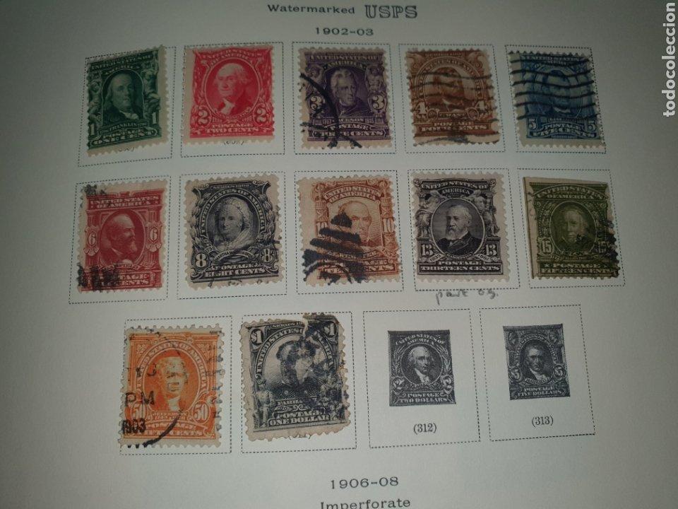 12 SELLOS AÑO 1902/03 USA (Sellos - Extranjero - América - Estados Unidos)