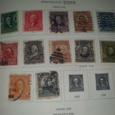 Sellos: 12 SELLOS AÑO 1902/03 USA. Lote 262267385