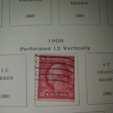 Sellos: 1 SELLO USA 1909 NICK 353. Lote 262268255