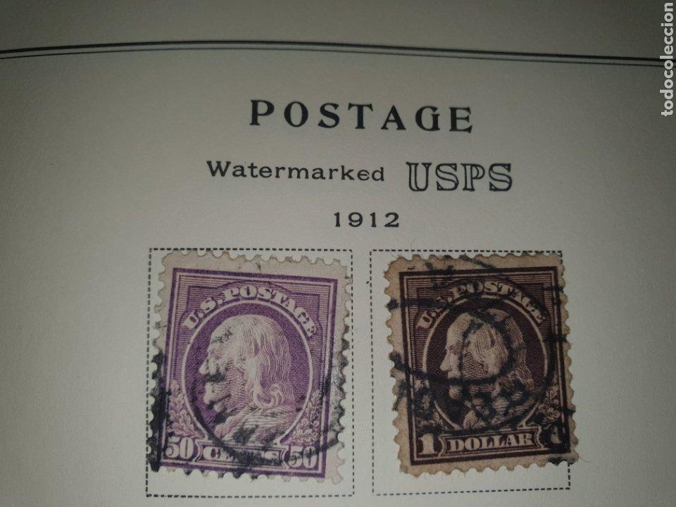 2 SELLOS USA 1912 (Sellos - Extranjero - América - Estados Unidos)