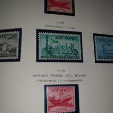 Sellos: 3 SELLOS USA AIR POST 1947. Lote 262536685