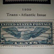 Sellos: SELLOS USA AIR POST TRANS ATLANTIC 1939. Lote 262537790