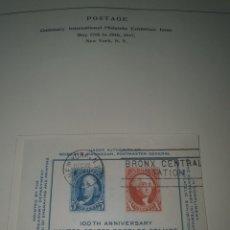 Sellos: 1 HOJA SELLO USA 1947. Lote 262706785
