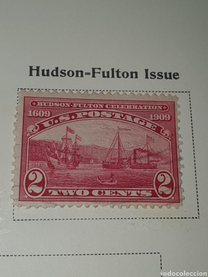 SELLO USA NICK 372 1909 (Sellos - Extranjero - América - Estados Unidos)