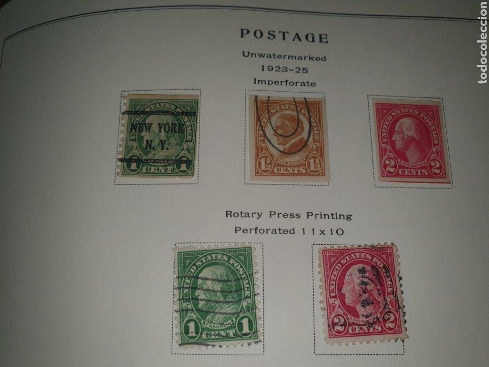 5 SELLOS USA 1923-25 (Sellos - Extranjero - América - Estados Unidos)