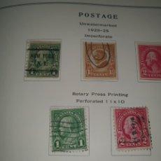 Sellos: 5 SELLOS USA 1923-25. Lote 262956205