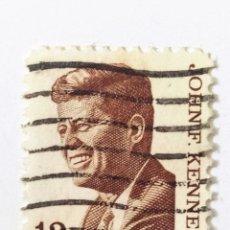 Sellos: SELLO DE ESTADOS UNIDOS 13 C - 1967 - KENNEDY - USADO SIN SEÑAL DE FIJASELLOS. Lote 269963303